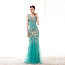 2018 Gorgeous Mermaid Prom Dress Floor Length Evening Dress