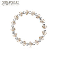 2015 New Design Crystal Beads Bracelet Made With SWAROVSKI ELEMENTS For Christmas Gift