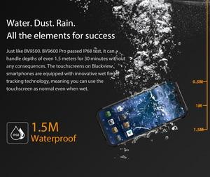 "Image 5 - Blackview BV9600 פרו Mobilephone מחוספס IP68 עמיד למים Helio P70 הגלובלי 4G Smartphone 6.21 ""מסך 6GB RAM 128GB MT6771 5580mAh"