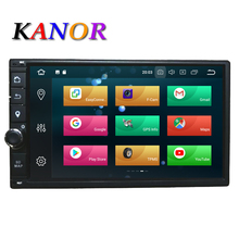 KANOR Octa Core RAM 4G ROM 32G 2 Din Android 8.0 Autoradio di Navigazione GPS Per Hyundai Elantra sonata Tucson Santa Fe Lavita Getz