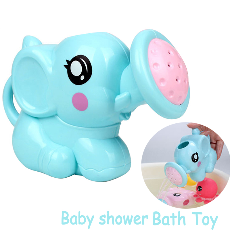 Elephant Watering Pot Toddler Kids Baby Shower Boy Bath Toys For Children Water Toys Shower Tool