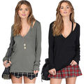 New Fashion Women Summer Vest Long Sleeve Blouse Casual Tank Tops Shirts S-XL