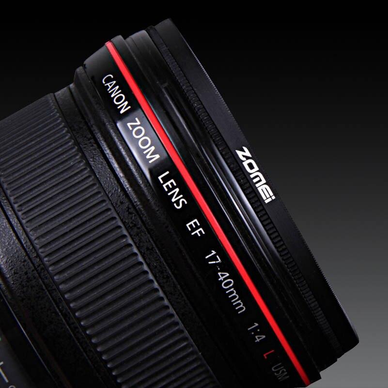 Sony Zomei Circular Polarizer 52mm Ultra Slim CPL Professional Lens Filter Optical Glass for Canon Nikon Digital Camera