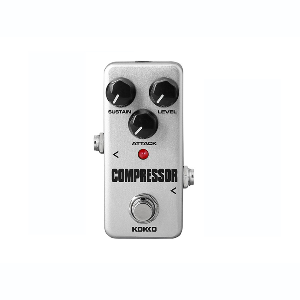 Mini Portable Booster Pedal Compressor font b Guitar b font Effects Pedal High Quality Anti skid