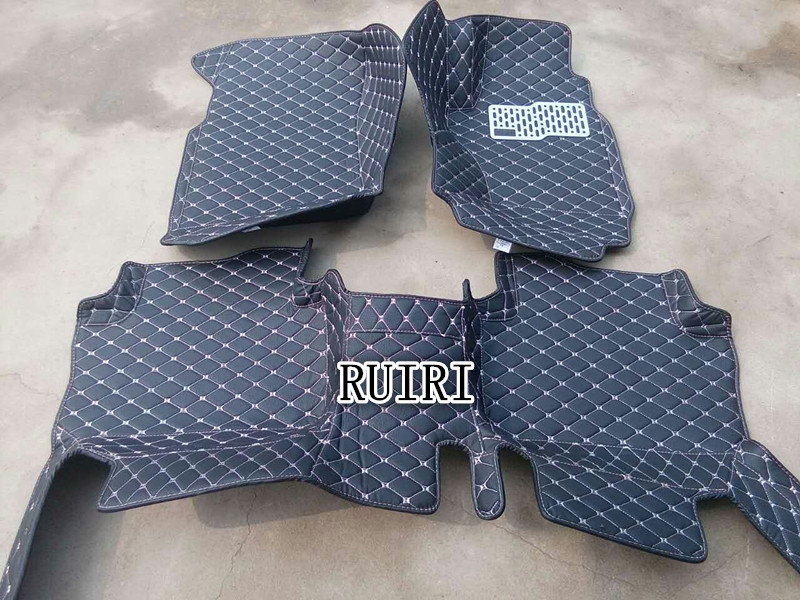 Good quality! Custom special floor mats for Right Hand Drive Volkswagen Golf 6 2012-2008 waterproof car carpets,Free shipping