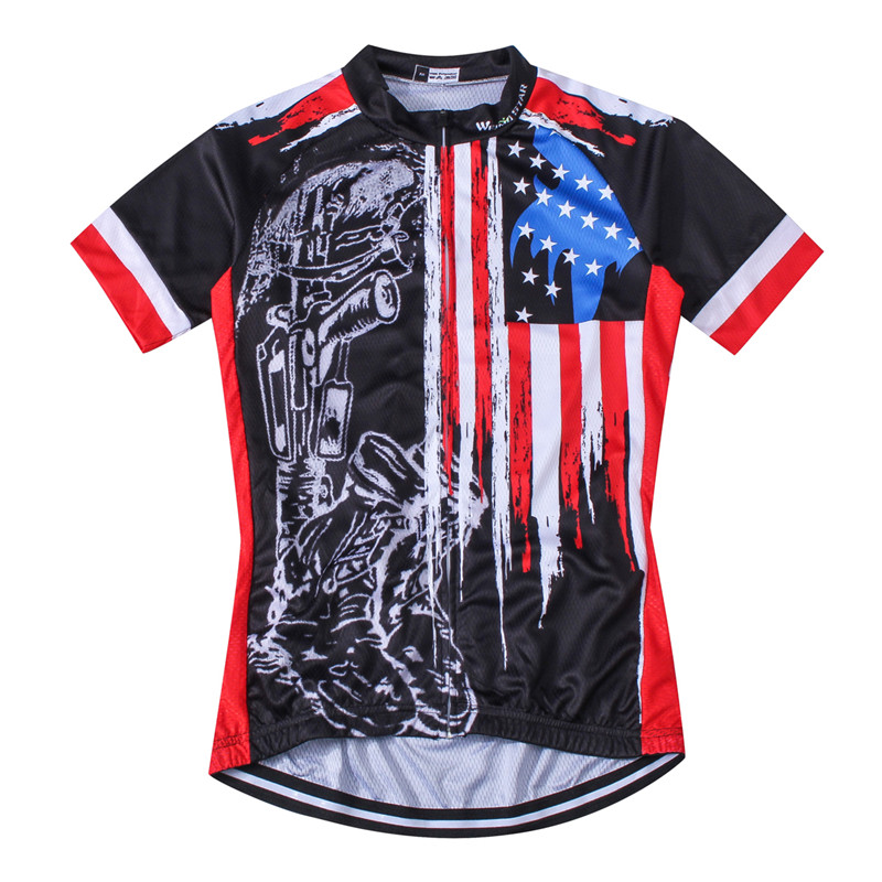 68b5ee814 Weimostar 2017 Breathable USA Cycling Jersey Men Summer Racing Sport  Cycling Clothing Short Sleeve mtb Bicycle Bike Jersey Shirt-in Cycling  Jerseys from ...