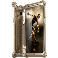 Case For Samsung Galaxy S8 Plus Case Luxury Doom Armor Dirt Shock Anti Knock Metal Aluminum