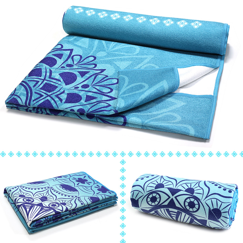 Luxury Sweat Grip Mat Towel: Non Slip Yoga Blankets Microfiber For Hot Yoga Towel
