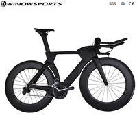 aero carbon time trial bicycle full triathlon TT bike 22 speed Aero carbon tt bicycle bike frame 48/51/54/57cm