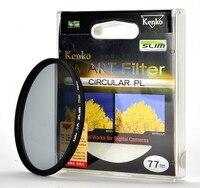 Kenko Smart Slim Filter Circular PL 49/52/55/58/62/67/72/77/82mm Slim designed new frame PL filter