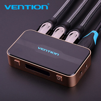 Vention 3 Input 1 Out Put HDMI Switch Switcher HDMI Splitter With Audio For XBOX 360