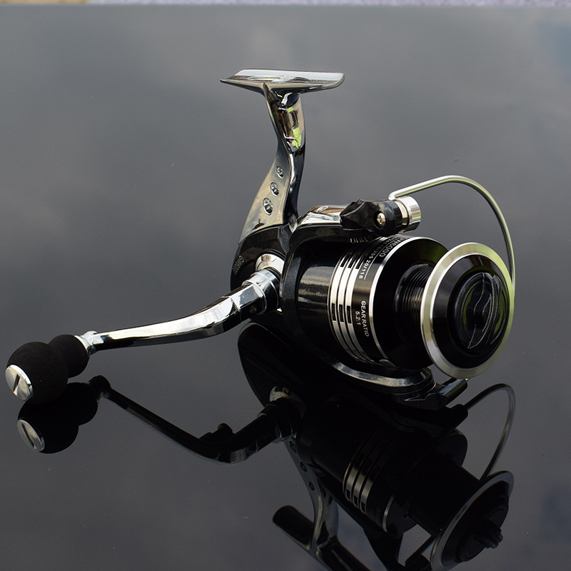 Image 2 - Deshion 13+1BB Black Stainless Steel Spinning Fishing Reel 1000 6000 Series Saltwater Casting Fishing Coil Spinning Reels-in Fishing Reels from Sports & Entertainment