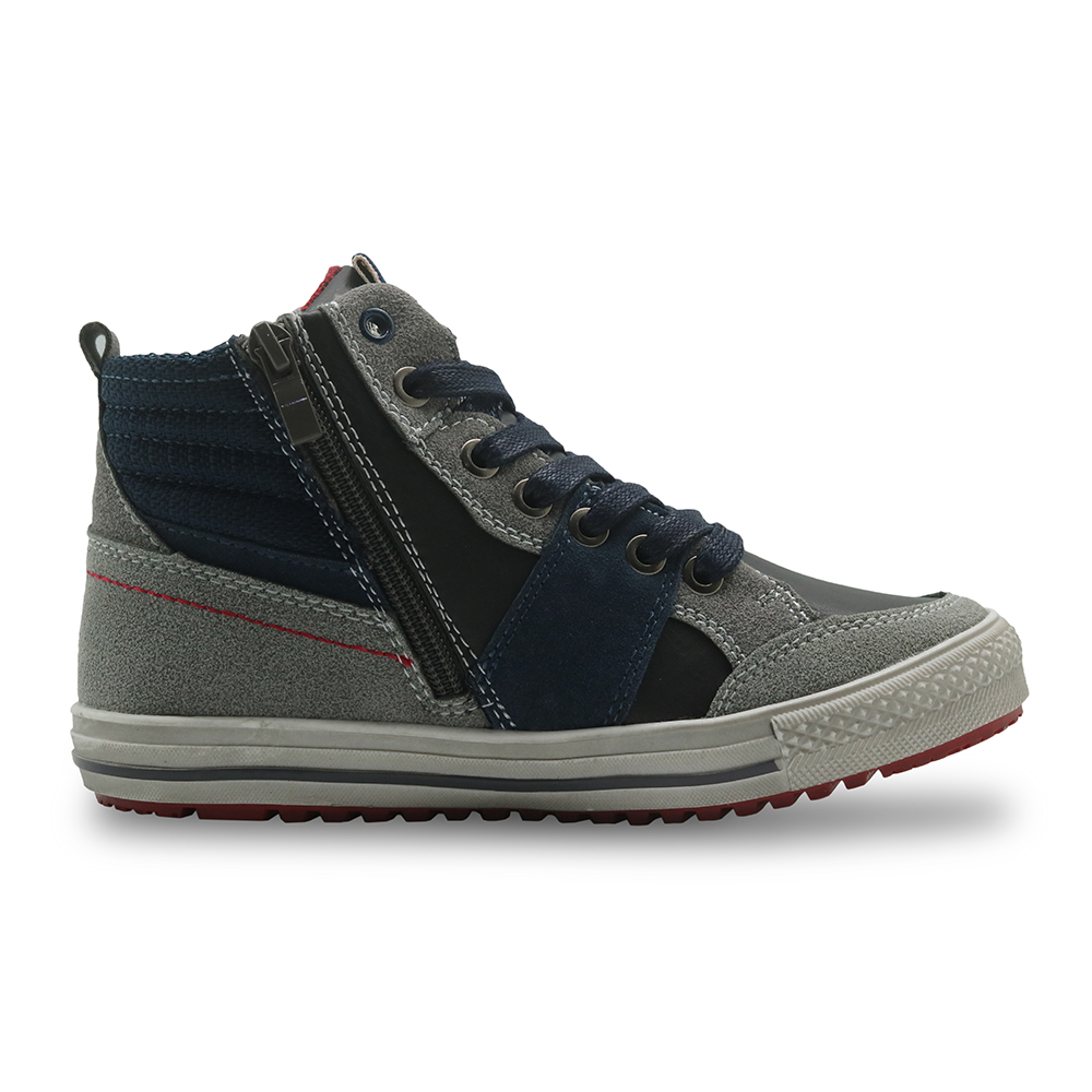 Image 3 - Apakowa automne garçons bottes en cuir Pu cheville Martin bottes avec soutien de la voûte plantaire chaussures de loisir à la mode pour les garçons avec fermeture éclair EU 32 37boys bootsboys fashion bootsboots boys -