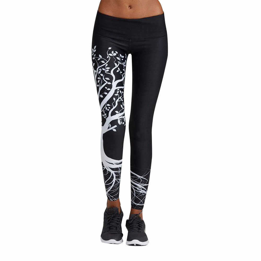 New Women Printed Sports Workout Gym Fitness Exercise Athletic Pants Leggins Sport Women Fitness Zohra Leggings Adventure Time 5 Aliexpress