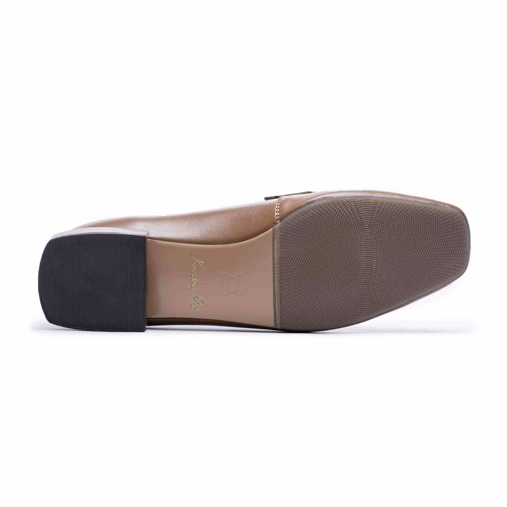 Krazing topf full grain leder gladiator mode schuhe frauen low heels frauen plus größe fahr feste farbe schwangere schuhe L75-in Damenpumps aus Schuhe bei  Gruppe 2