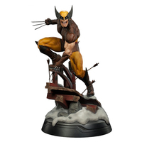 Marvel X Men Dowin Wolverine Figure 1/6 Scale LOGAN PVC Toy 10 26cm