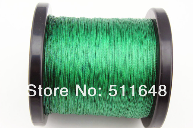 Free Shipping! 1000M/PCS 10LB PE Braided FISHING LINE GREEN