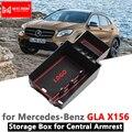 Подлокотник коробка для хранения Mercedes Benz GLA X156 Органайзер аксессуары GLA180 GLA200 GLA220 GLA250 GLA45 200 220 250 200d 220d AMG