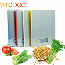 LCD Postal Scale Diet Display Kitchen-Scale Multi-Functional Food Electronic 5kg/1g Digital