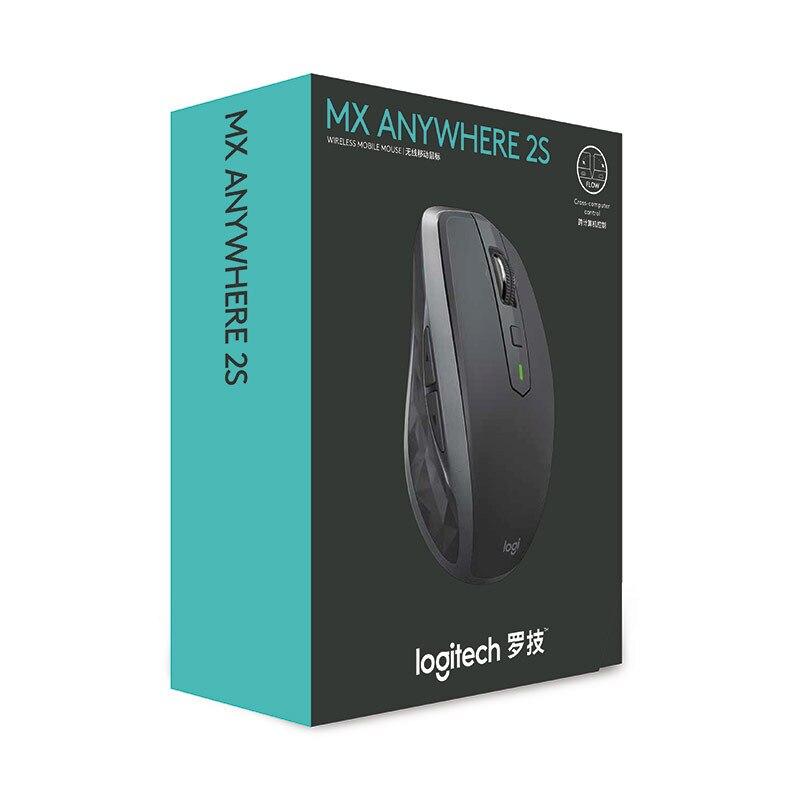 Logitech MX Überall 2S Bluetooth Drahtlose Maus Drahtlose Maus mit 2,4 Ghz 4000 DPI Wireless & Bluetooth Dual Verbindung maus - 6