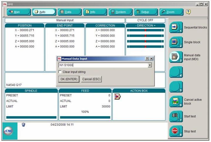 software 1 PA8000