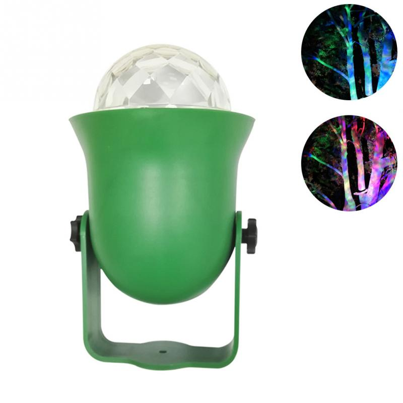 Outdoor Tree Light LED Light IP65 Waterproof Firefly Effect Light With Remote Controller Mini RGB Projector Lamp