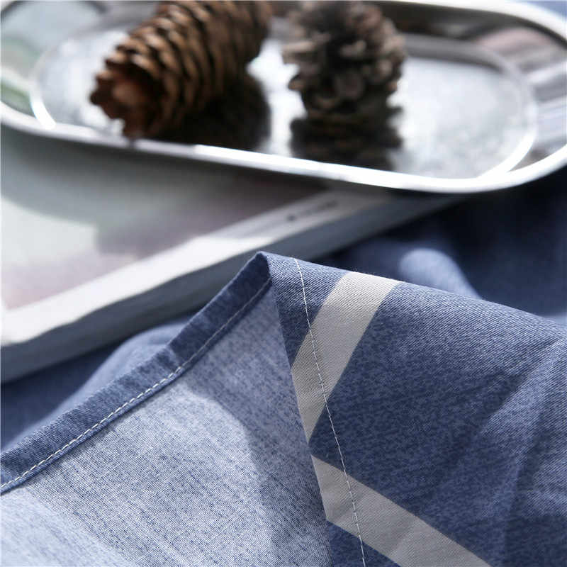 Постельное белье темно-синий Пират узор 100% хлопок плоские листы King Размеры простыни 250x270 см Размеры Постельное белье Покрывало покрывало