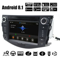 7 inch Android 8.1 Car DVD Player for Toyota RAV4 Rav 4 2007 2011 2 Din 1024*600 Auto Stereo GPS Navigation Radio steering wheel