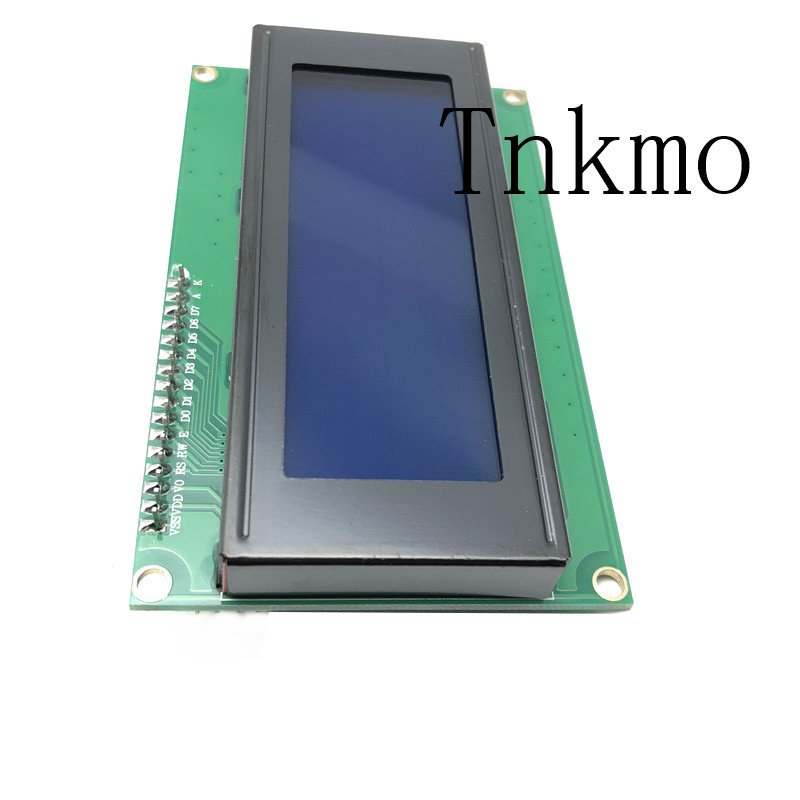LCD Module Blue Screen IIC/I2C 2004 5V 20X4 LCD Board for arduino  Compatible with UNO MEGA 2560