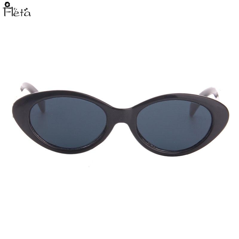 Ellipse Black Sunglasses Fit 18 Inch American  Doll,43CM Newborn Baby Doll Accessories N50