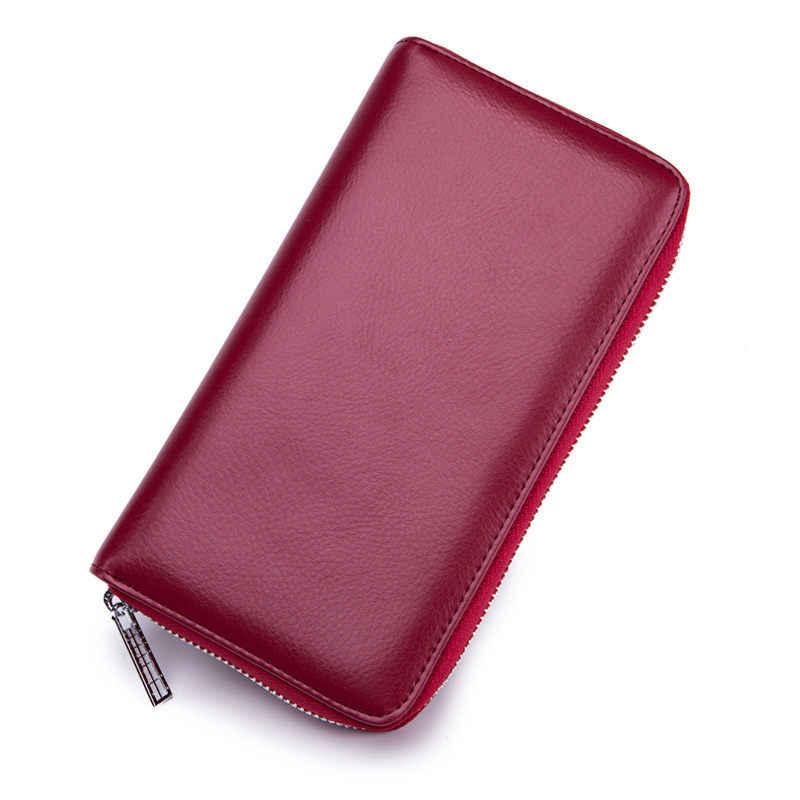 36 ช่องใส่การ์ด Rfid บัตรเครดิต Organizer กระเป๋าสตางค์กระเป๋าเดินทางผู้ชายผู้หญิงกระเป๋าสตางค์ porte carte