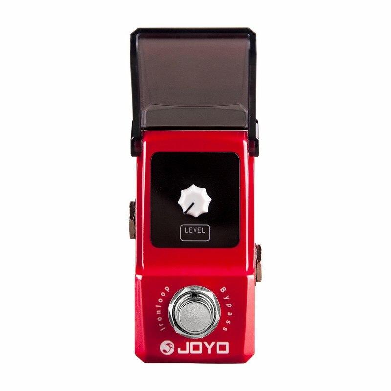 JOYO JF 329 Ironloop циклическая запись гитарный эффект педаль цифровая фраза Looper 20 мин Время записи Overdub функция Undo Redo