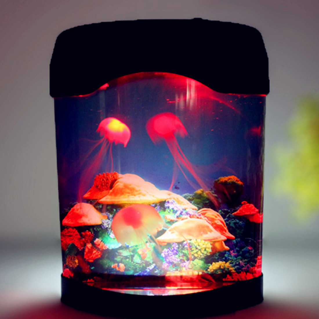 Iguardor Creative Beautiful Aquarium Night Light Durable Hom