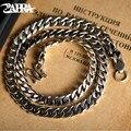 ZABRA роскошные 925 пробы серебро 7,5 мм 55 см лошадь цепи для Для мужчин Цепочки и ожерелья винтажный тайский серебристый металлический браслет Ц...