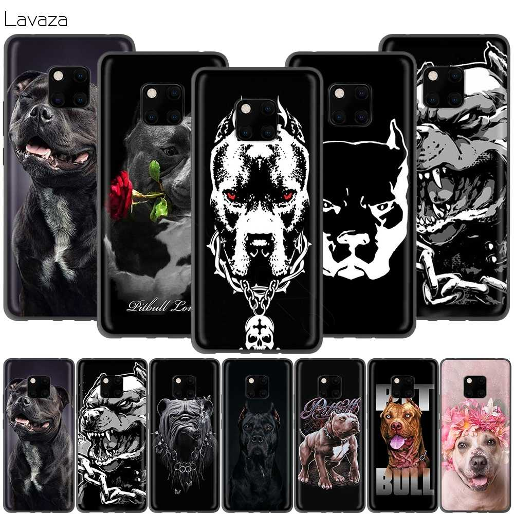 Lavaza Pit Bull Lovely Dog Pitbull Case for Huawei Honor 10 9 8 8x 8c 7x 7c 7a Note Nova 3 3i Lite Y9 Y7 Y6
