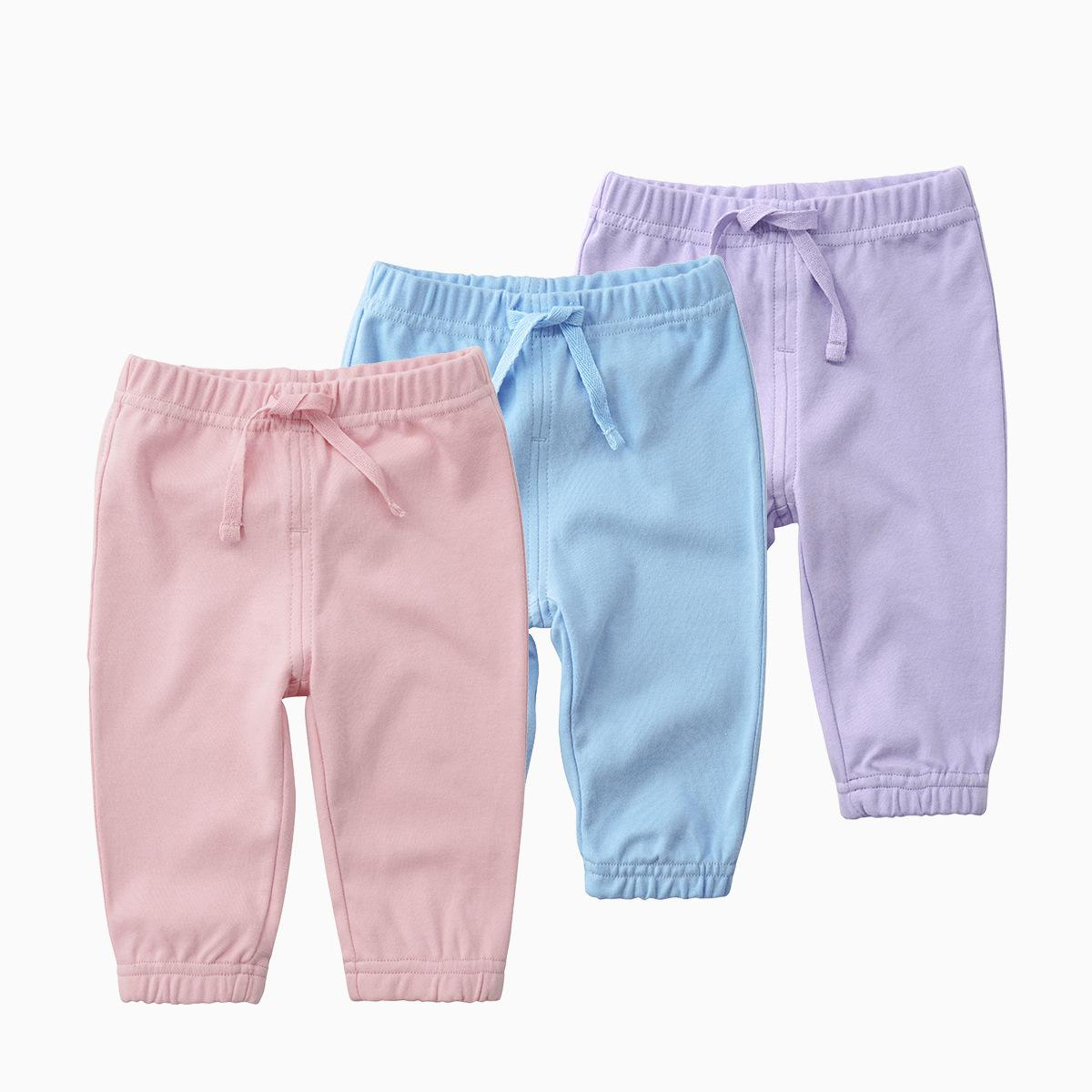 Baby Pants Newborn Children Pure Cotton Pants Infant Baby Leggings Spring Soft  Toddler Girl Pants 8 Colors