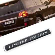 цена на Auto Styling Limited Edition Car Body Rear Tail Letter Emblem Badge for Toyota Land Cruiser LC200 Prado Reiz Crown Yaris Hilux
