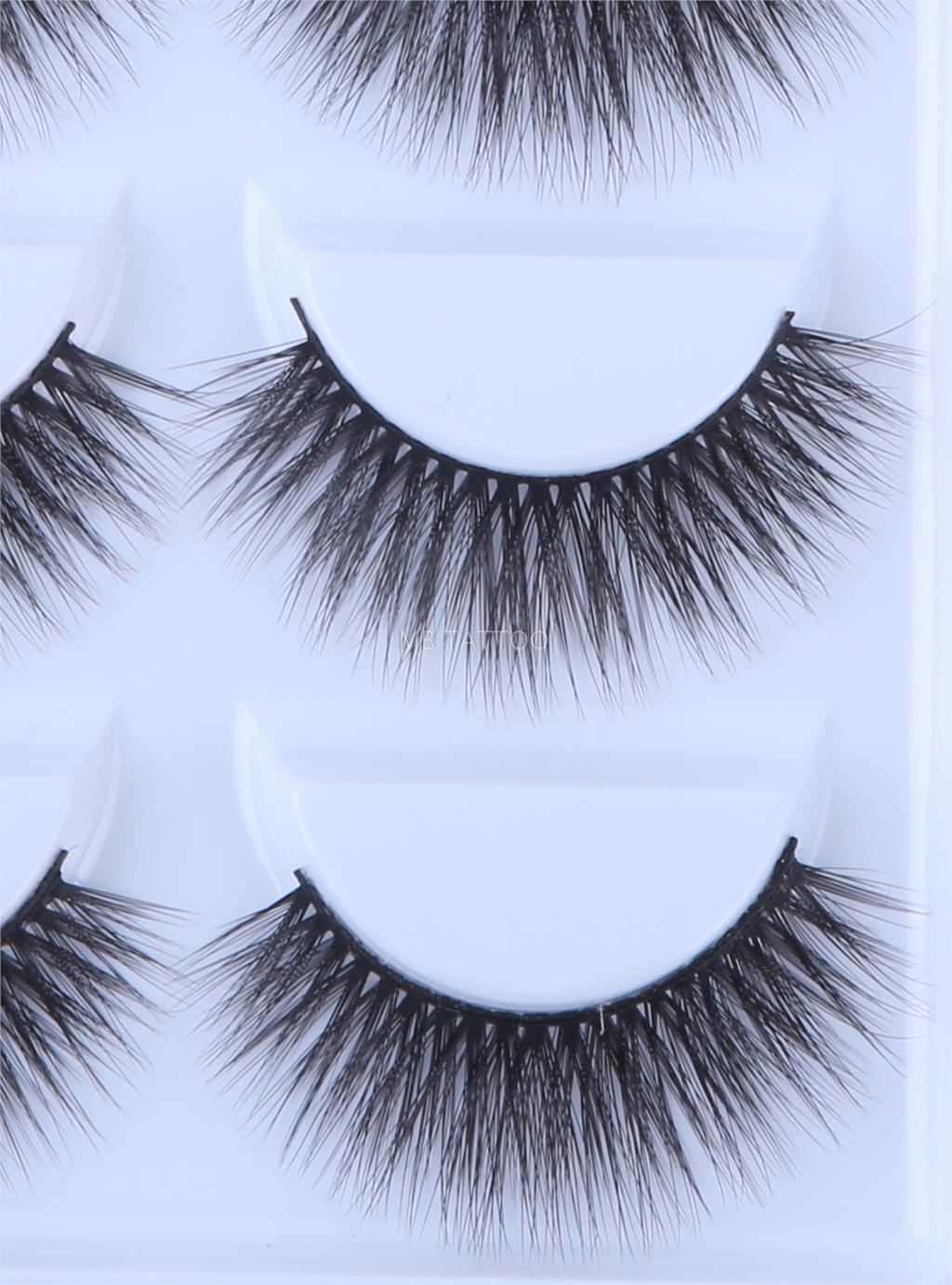 HTB1WIUNQ4TpK1RjSZR0q6zEwXXaM New 3D 5 Pairs Mink Eyelashes extension make up natural Long false eyelashes fake eye Lashes mink Makeup wholesale Lashes