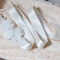 TOPQUEEN S228 FREE SHIPPING Amazing Marry Christmas Gift for Wedding Party Bride Bridesmaid Belt Dress Flower Sash Accessories