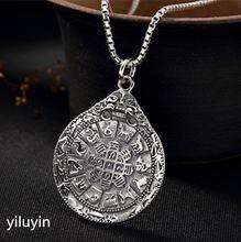 Ювелирные изделия kjjeaxcmy s999 чистое серебро Двенадцать китайских