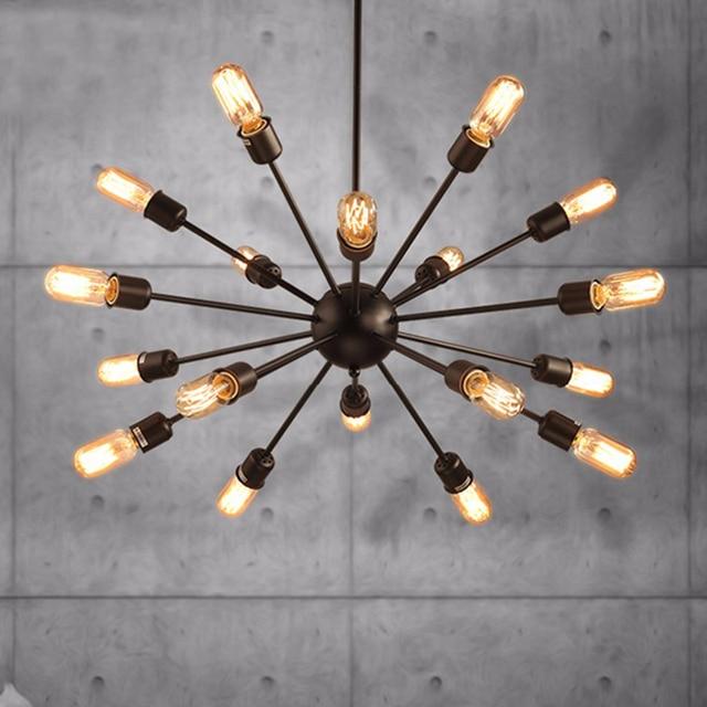vintage pendant lights Iron loft lamps Nordic Retro Light Industrial style cage pendant lamp Restaurant Lighting hang lustre