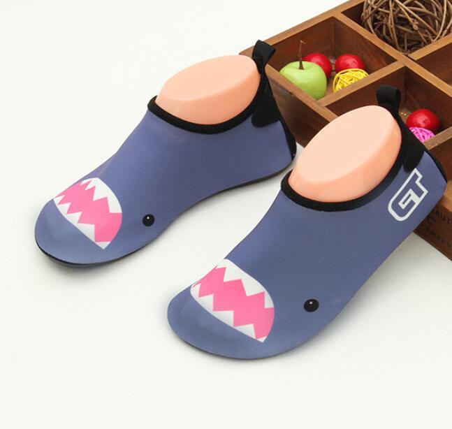 Slippers Swim-Water-Shoes Barefoot Kids Cartoon Children Rubber Sunny Everest Socks No-Skid