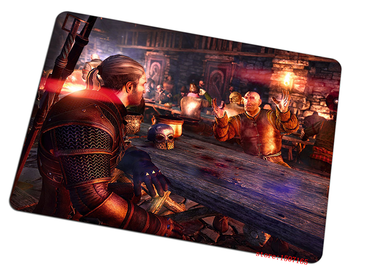 9 size cool The Witcher mouse pad 2016 new large pad to mouse computer mousepad Domineering gaming mouse mats to mouse gamer