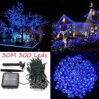 Waterproof LED Solar String Light 30M 300 led Solar Fairy String Light Outdoor Garden Wedding Decoration Christmas Holiday Light