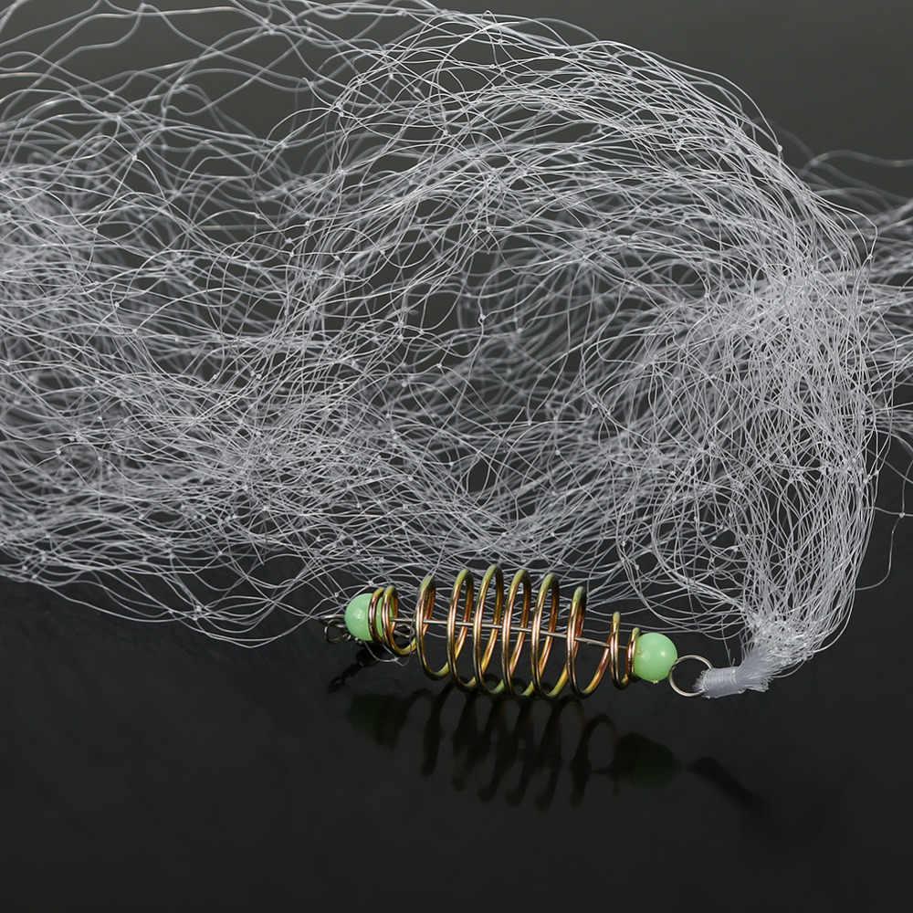 Рыболовные снасти сетка с кормушкой