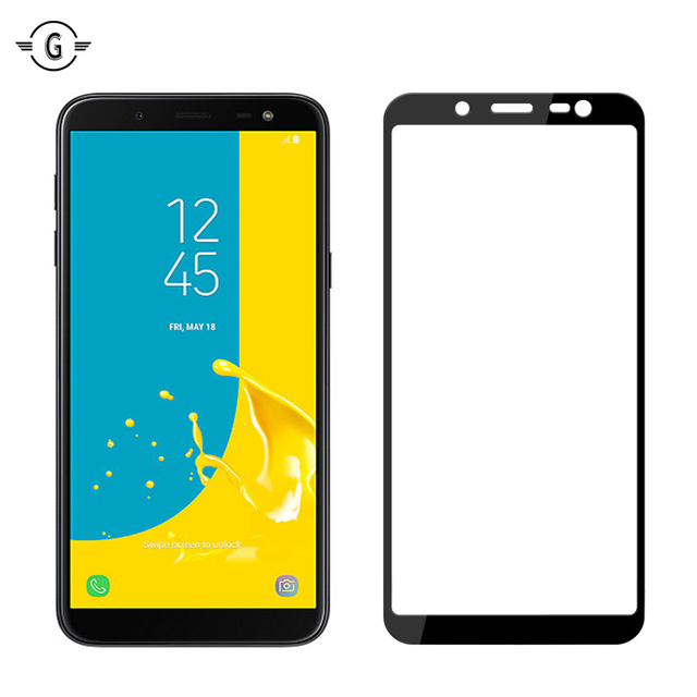 promo code 0177d 48653 US $3.99 |3D Curved Whole Cover J6 J600 Tempered Glass Screen Protector for  Samsung Galaxy J6 2018 Glas Full Screen Protective Glass film-in Phone ...