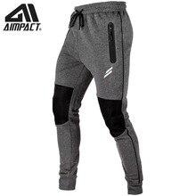 Aimpact טלאי כושר מכנסיים עבור גברים פיתוח גוף אימון כושר אימון Jogger מכנסי טרנינג זכר פעיל ספורטיבי אימונית AM5204