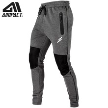 Aimpact Patchwork Fitness Pants for Men Bodybuilding Workout Gyms Training Jogger Sweatpants Male Active Sporty Tracksuit AM5204