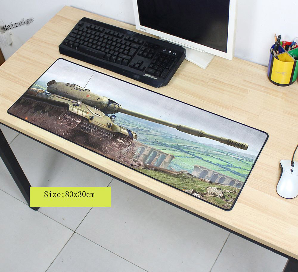 Mairuige World of Tanks Padmouse 700x300mm Wot Pad To Mouse Notbook Computer Mousepad Popular Gaming Mouse Pad Gamer To Laptop
