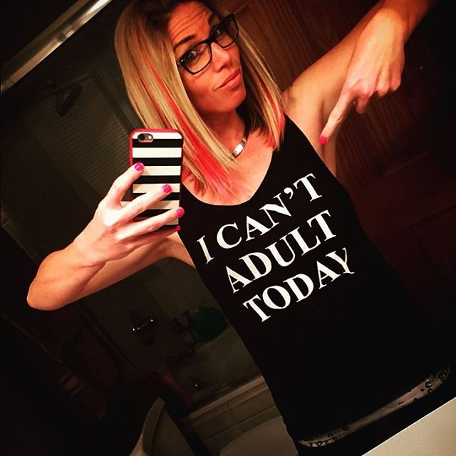 0-I can't adult today tanks tops vest women t shirts fashion sexy sportswear-2